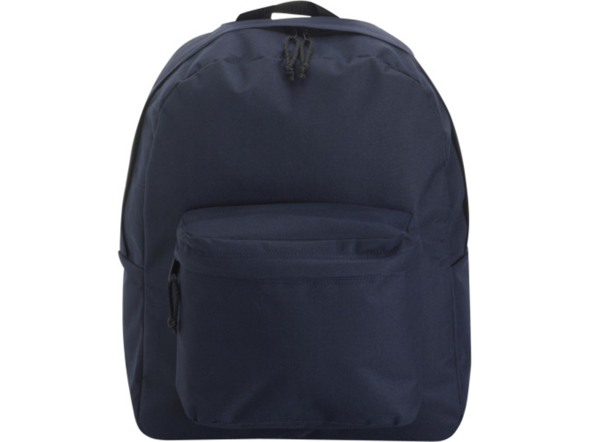 Rucksack 'Basic' aus Polyester – Blau bedrucken, Art.-Nr. 005999999_4585