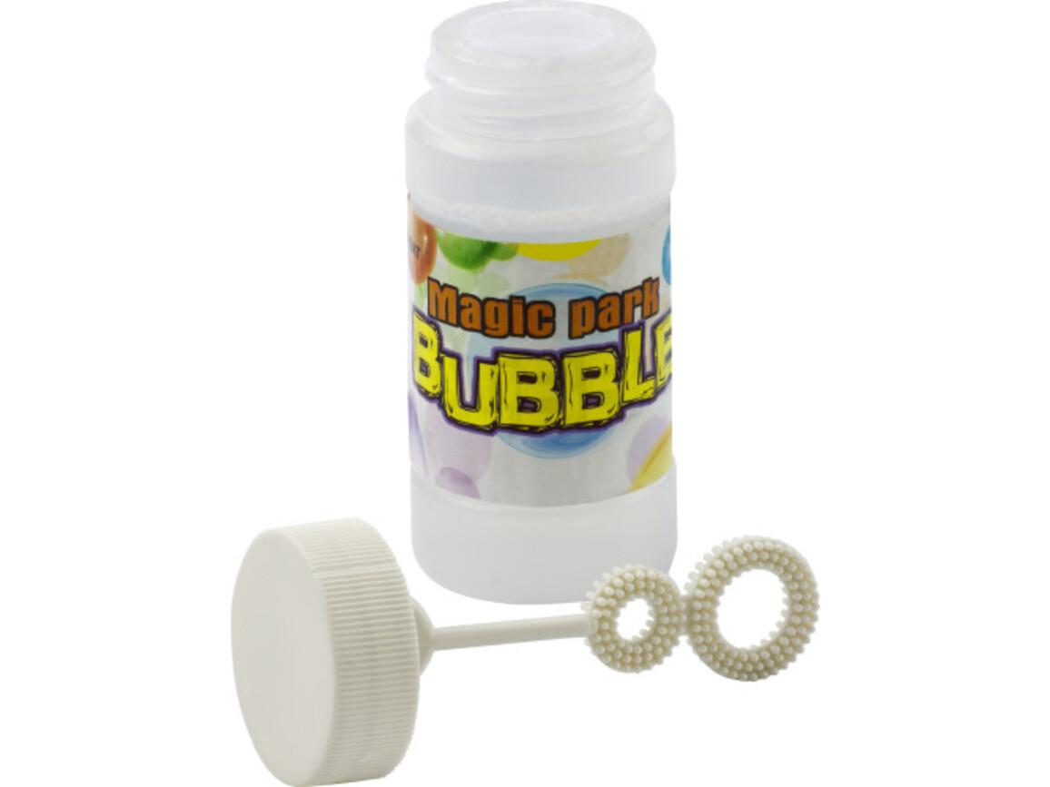Seifenblasen 'Magic' aus Kunststoff – Weiß bedrucken, Art.-Nr. 002999999_4759