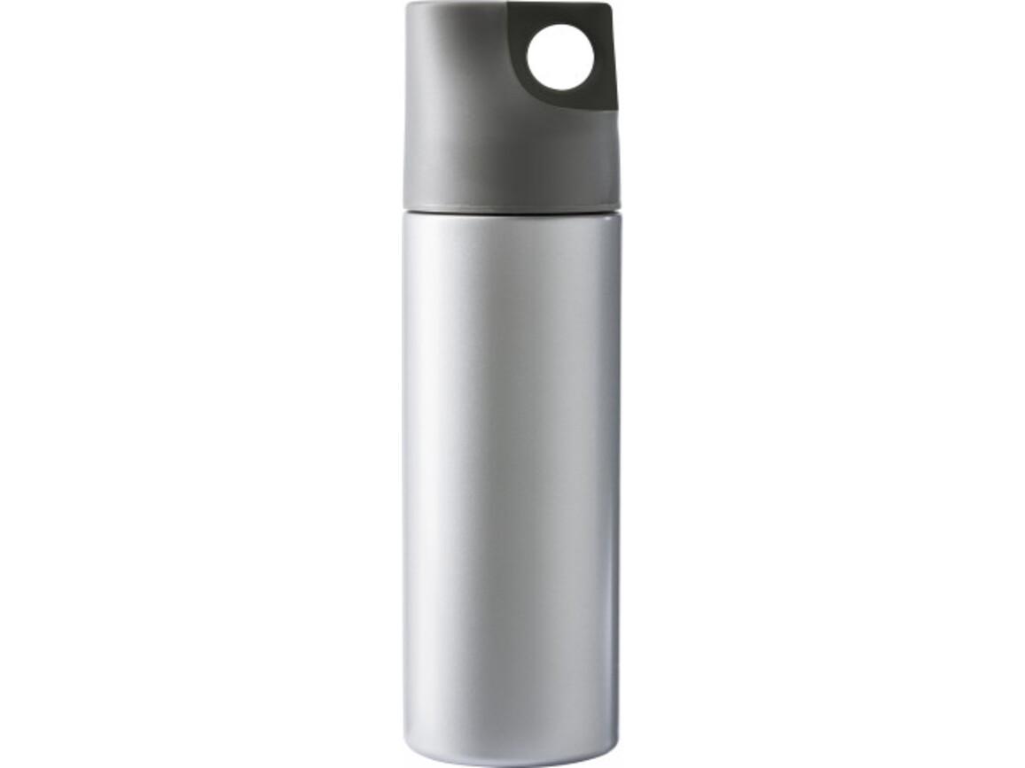 Isolierflasche 'Alabama' aus Edelstahl – Schwarz bedrucken, Art.-Nr. 001999999_4990