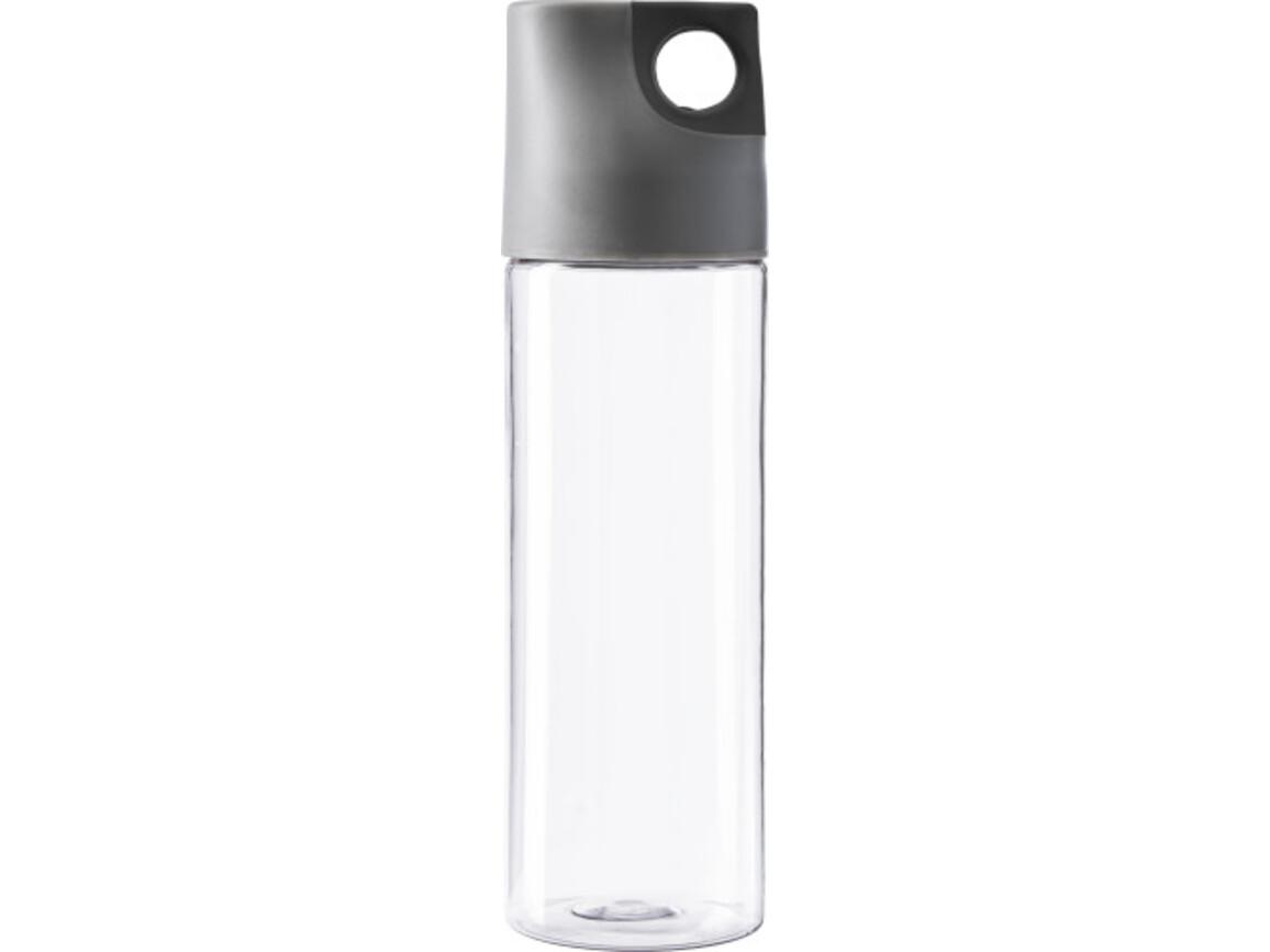 Trinkflasche 'Texas' aus Kunststoff – Schwarz bedrucken, Art.-Nr. 001999999_4991
