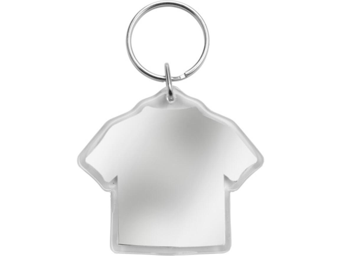 Schlüsselanhänger 'Trikot' aus Kunststoff – Neutral bedrucken, Art.-Nr. 021999999_5159