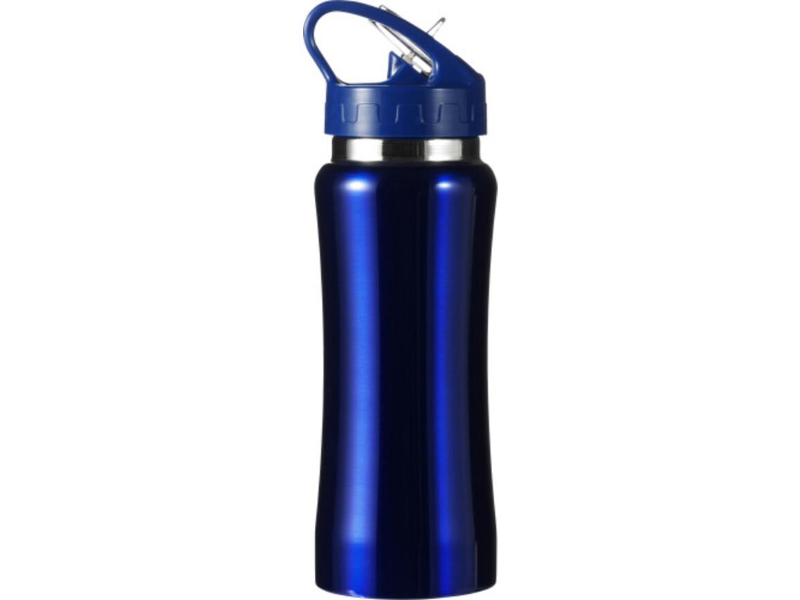 Trinkflasche 'Glauchau' aus Edelstahl – Blau bedrucken, Art.-Nr. 005999999_5233