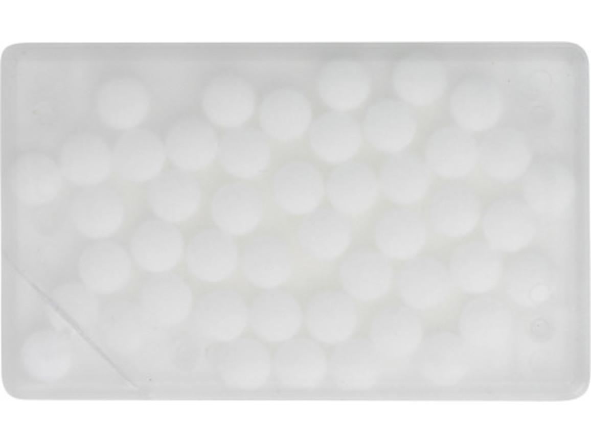 Pfefferminzbonbons 'Quadro' aus Kunststoff – Neutral bedrucken, Art.-Nr. 021999999_5251