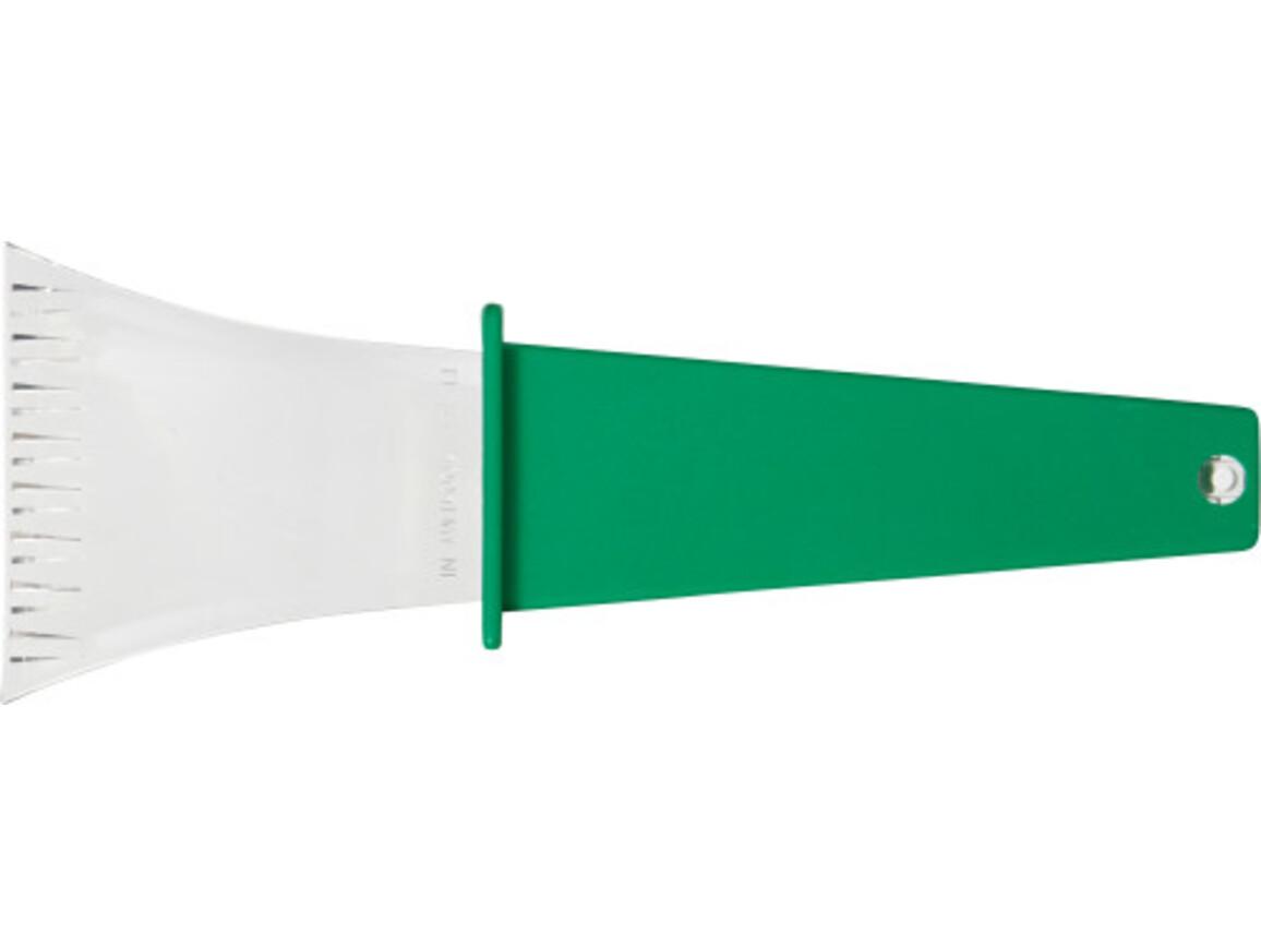 Eiskratzer 'Winston' aus Kunststoff – Grün bedrucken, Art.-Nr. 004999999_5815