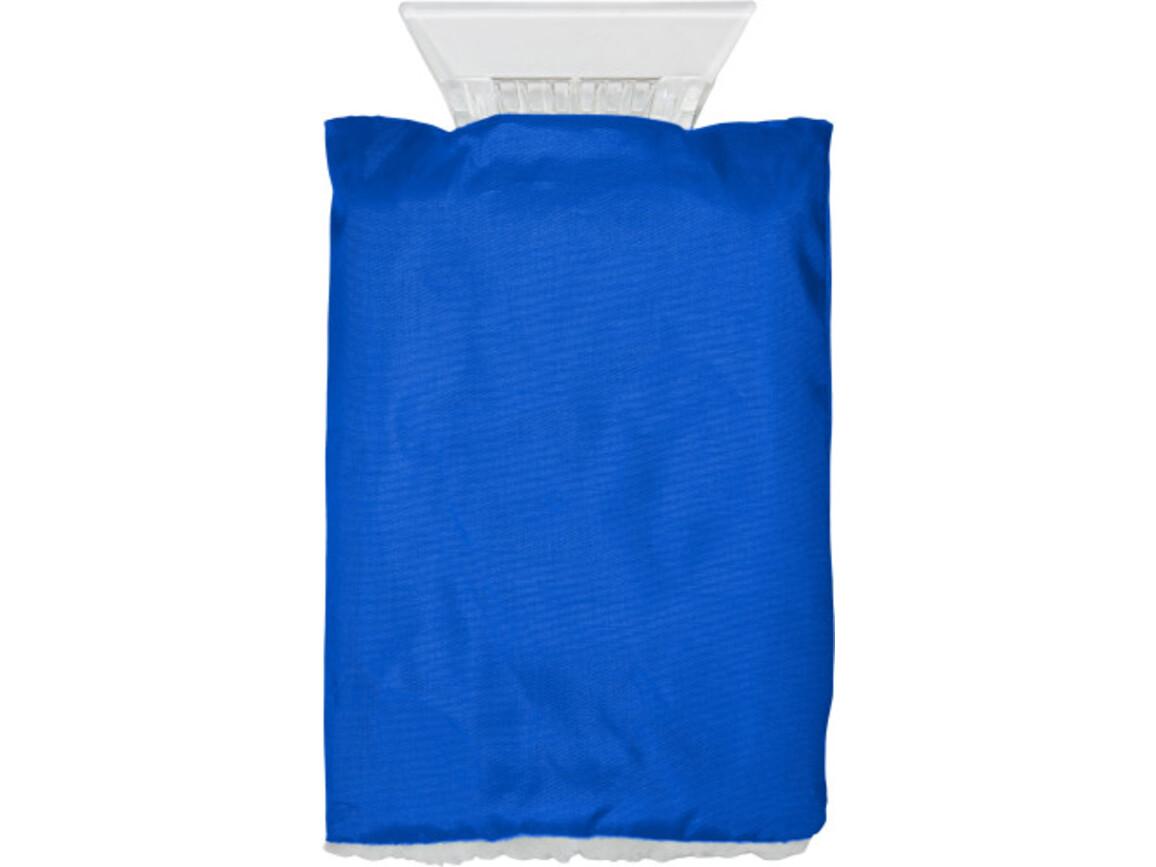 Eiskratzer 'Jersey' aus Kunststoff – Kobaltblau bedrucken, Art.-Nr. 023999999_5817
