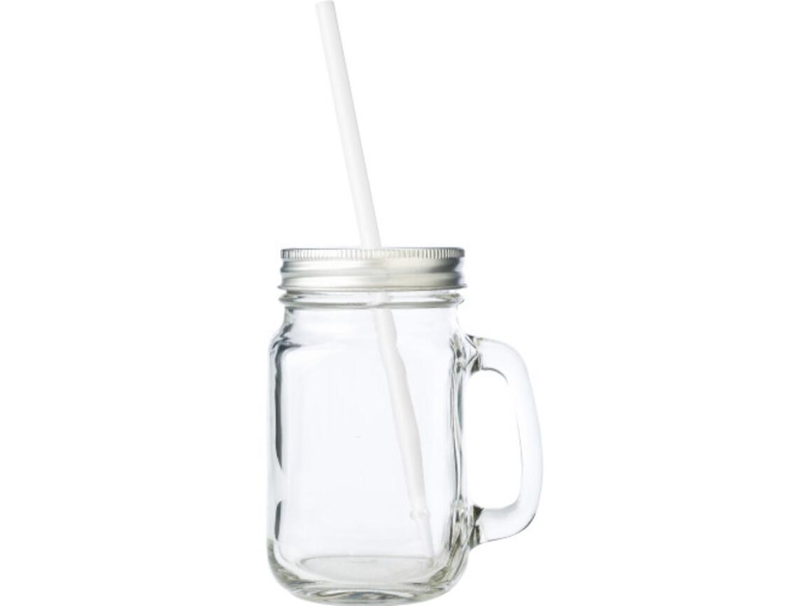 Trinkbecher 'Retro' aus Glas – Neutral bedrucken, Art.-Nr. 021999999_5964