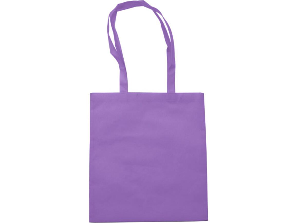 Einkaufstasche 'Berlin' aus Non-Woven – Violett bedrucken, Art.-Nr. 024999999_6227