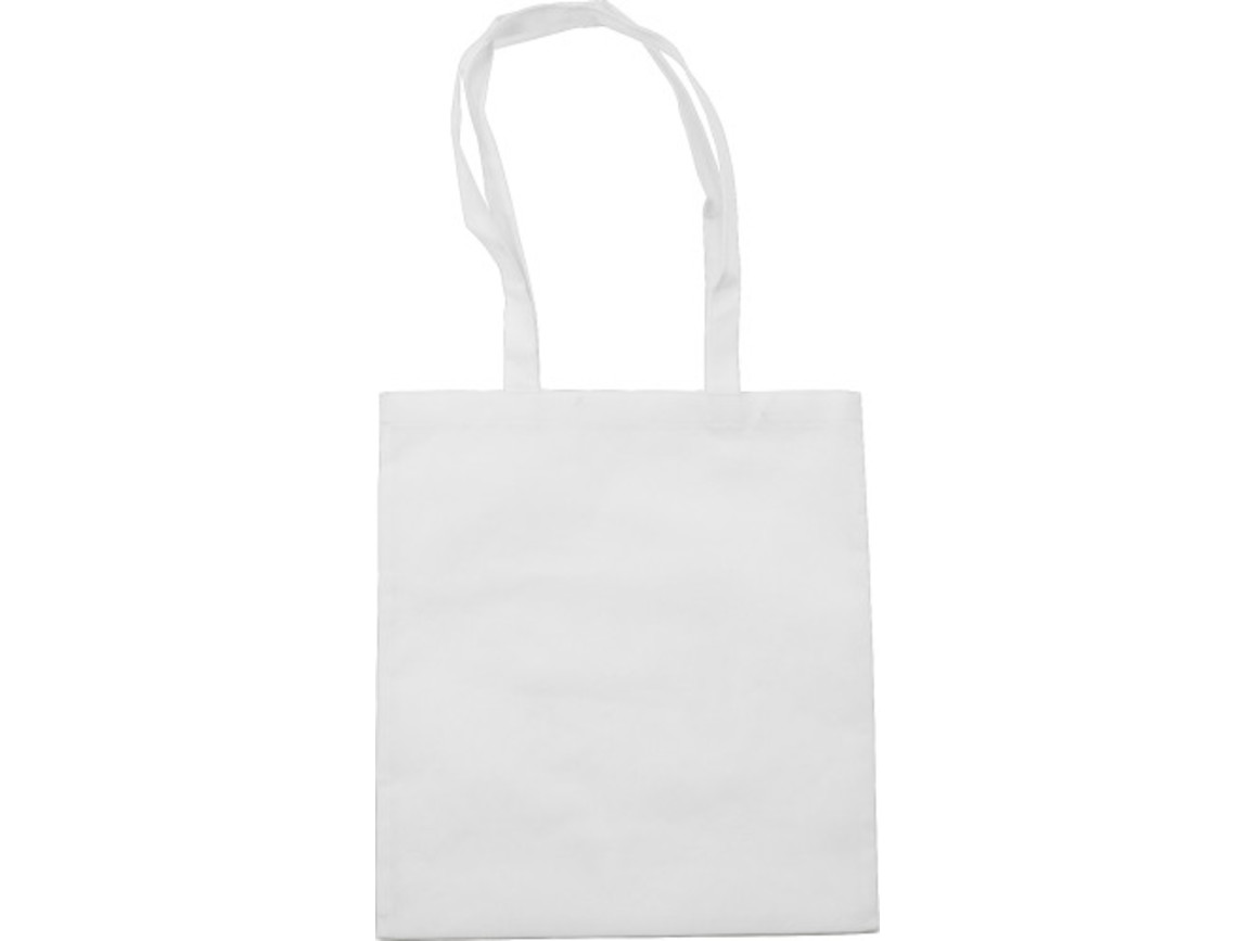 Einkaufstasche 'Berlin' aus Non-Woven – Weiß bedrucken, Art.-Nr. 002999999_6227