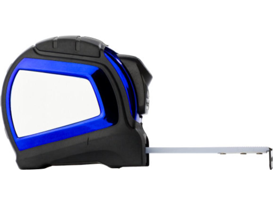 Maßband 'Blue Winder' aus Kunststoff – Blau bedrucken, Art.-Nr. 005999999_6521