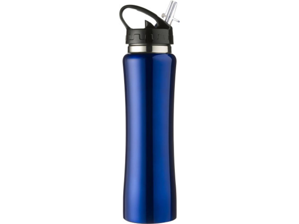 Trinkflasche 'Austin' aus Edelstahl – Kobaltblau bedrucken, Art.-Nr. 023999999_6535
