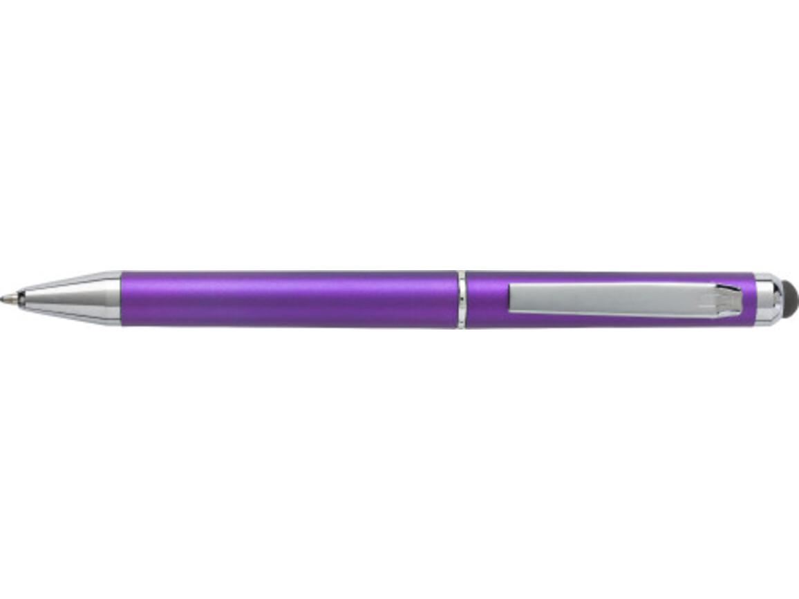 Kugelschreiber 'Livorno' aus Kunststoff – Violett bedrucken, Art.-Nr. 024999999_6540