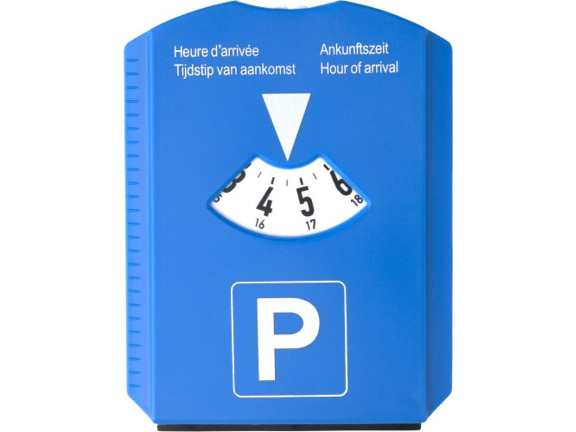 Parkscheibe 'Cockpit' aus Kunststoff – Kobaltblau bedrucken, Art.-Nr. 023999999_6621