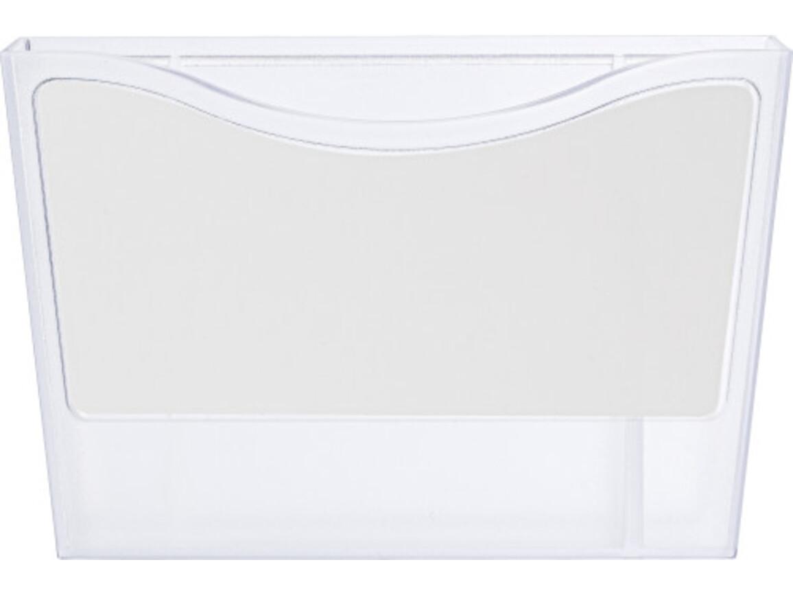 Stifteköcher 'Big Box' aus Kunststoff – Weiß bedrucken, Art.-Nr. 002999999_6929