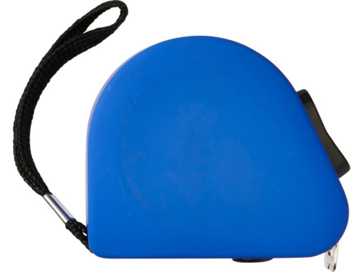 Maßband 'Shelby' aus Kunststoff – Kobaltblau bedrucken, Art.-Nr. 023999999_7123