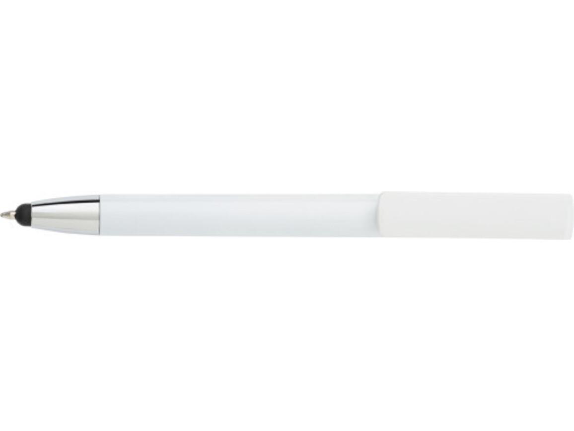 Kugelschreiber 'Diversity' aus ABS-Kunststoff – Weiß bedrucken, Art.-Nr. 002999999_7124