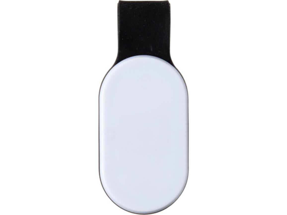Sicherheitslampe 'Everton' aus Kunststoff – Schwarz bedrucken, Art.-Nr. 001999999_7246