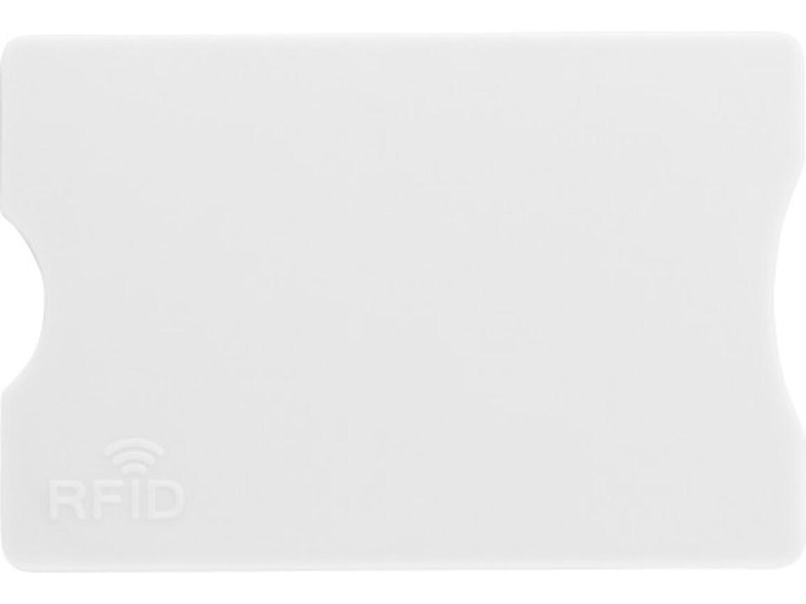 Kreditkartenhalter 'Money' aus Kunststoff – Weiß bedrucken, Art.-Nr. 002999999_7252