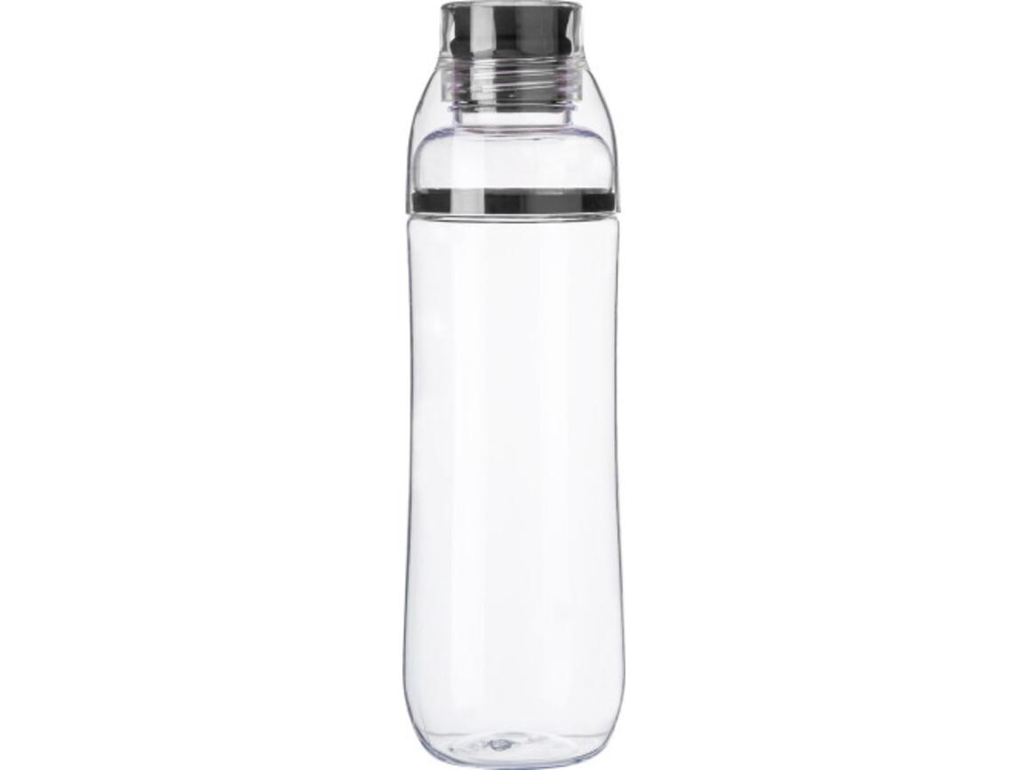 Trinkflasche 'Potsdam' aus Kunststoff – Schwarz bedrucken, Art.-Nr. 001999999_7288