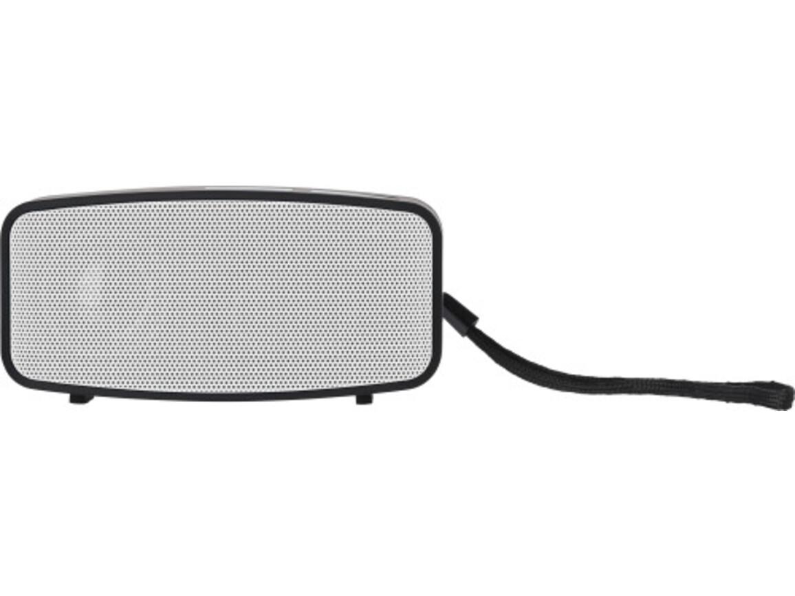 Lautsprecher 'Smartline' aus Kunststoff – Weiß bedrucken, Art.-Nr. 002999999_7304