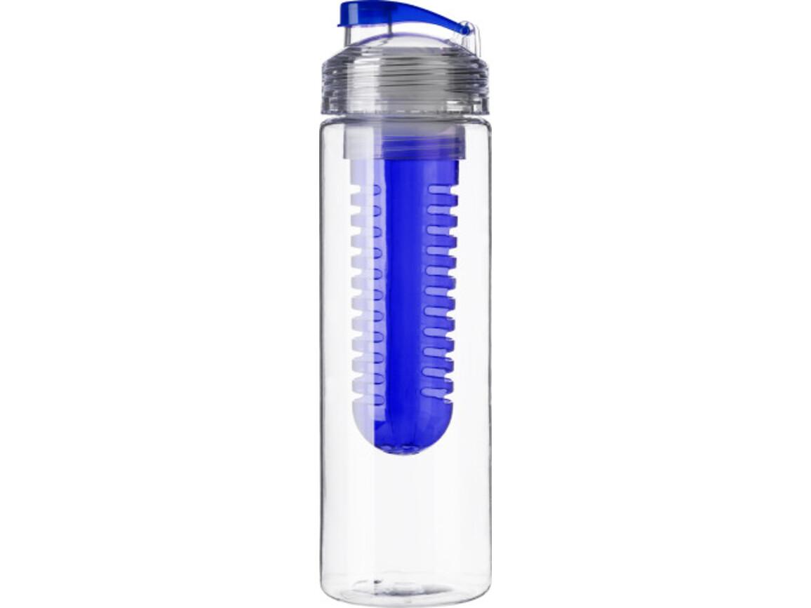 Trinkflasche 'Berlin' aus Kunststoff – Blau bedrucken, Art.-Nr. 005999999_7307