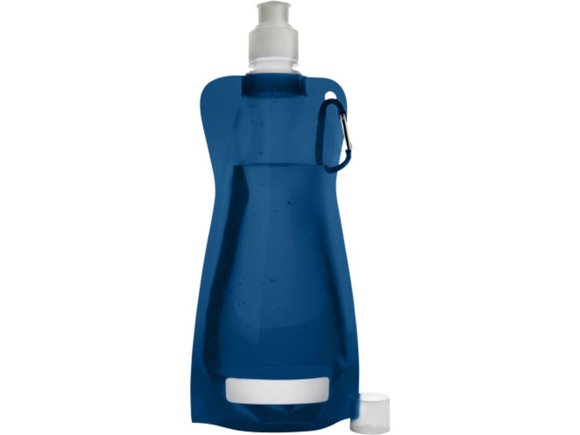 Trinkflasche 'Basic' aus Kunststoff – Blau bedrucken, Art.-Nr. 005999999_7567
