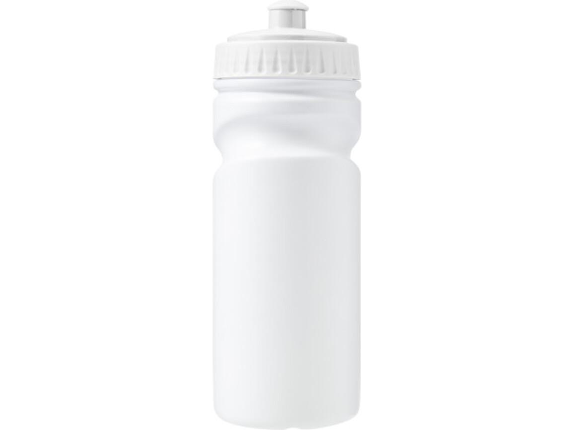 Trinkflasche 'Livorno' aus Kunststoff – Weiß bedrucken, Art.-Nr. 002999999_7584