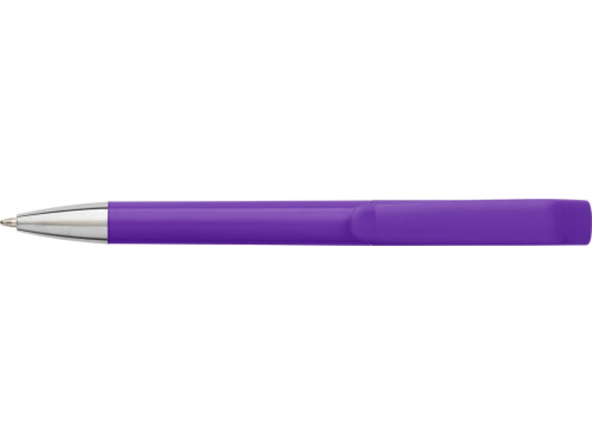 Kugelschreiber 'Color Swan' aus Kunststoff – Violett bedrucken, Art.-Nr. 024999999_7629