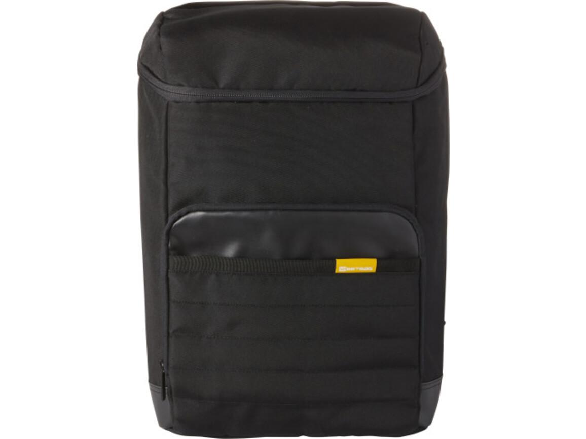 GETBAG Laptop-Rucksack 'Harvard' aus Polyester – Schwarz bedrucken, Art.-Nr. 001999999_7642