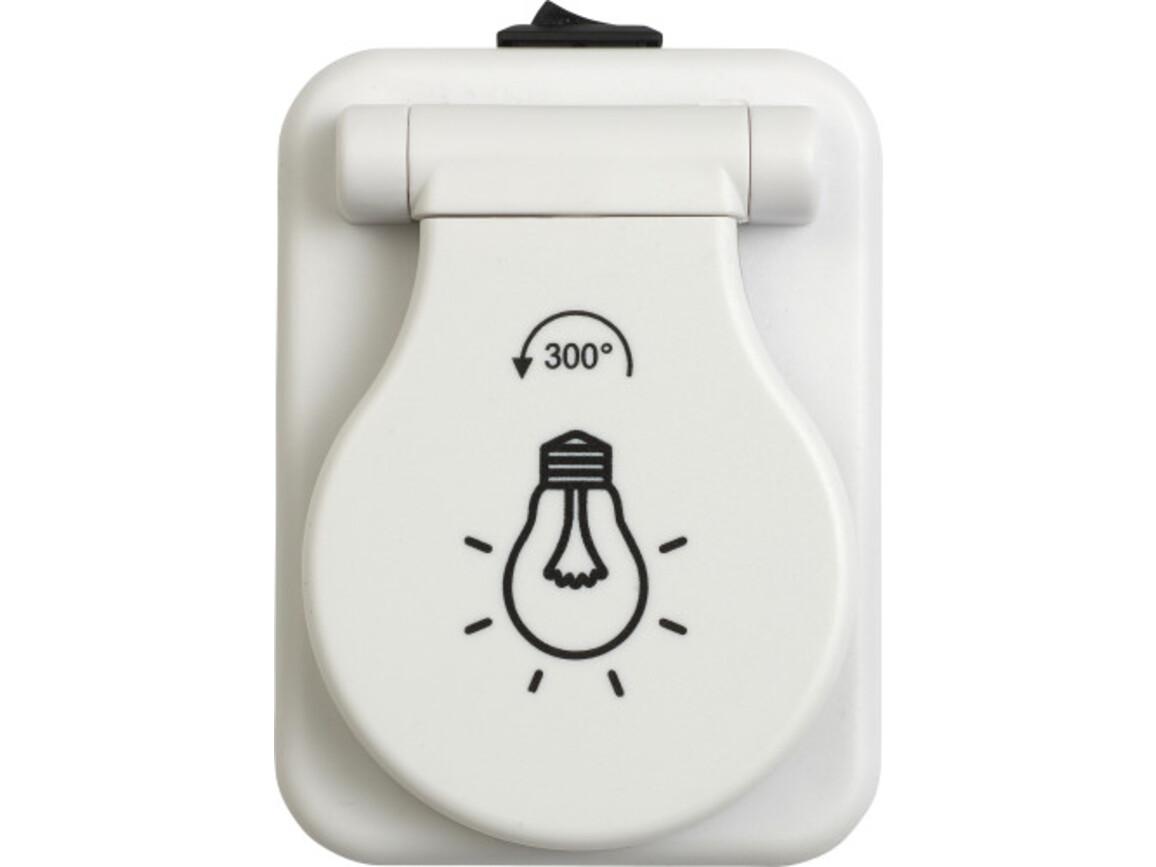 COB-Leuchte 'Ready' aus Kunststoff – Weiß bedrucken, Art.-Nr. 002999999_7793