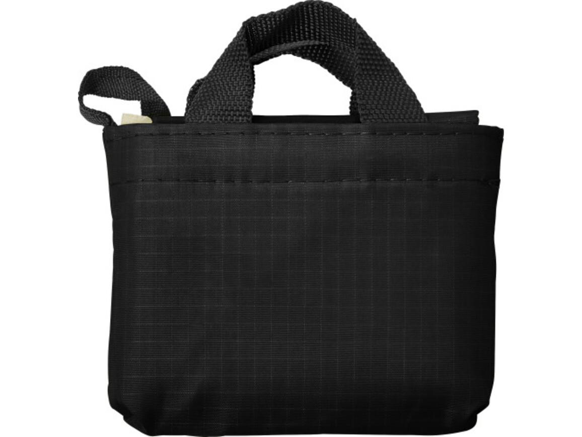 Einkaufstasche 'Elke' aus reißfestem Polyester – Schwarz bedrucken, Art.-Nr. 001999999_7799