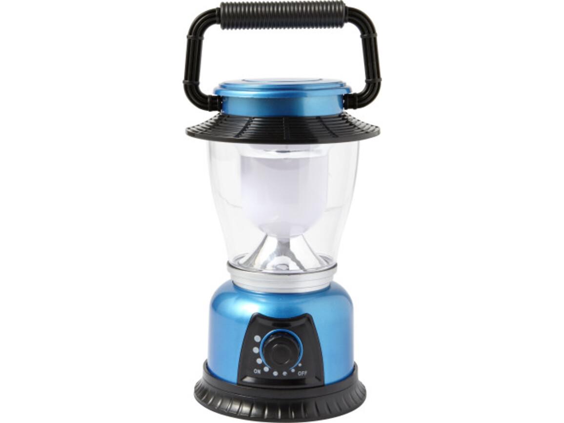 LED Campingleuchte 'Fun' aus Kunststoff – Blau bedrucken, Art.-Nr. 005999999_7802