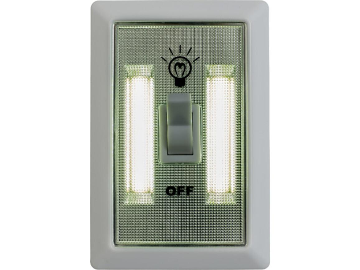 Lampe 'Good night' aus Kunststoff – Weiß bedrucken, Art.-Nr. 002999999_7839