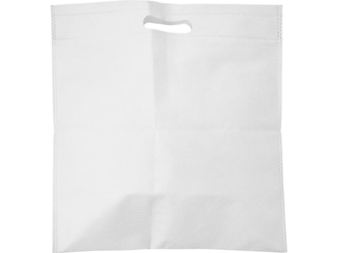 Tragetasche 'Carry' aus Non-woven – Weiß bedrucken, Art.-Nr. 002999999_7858