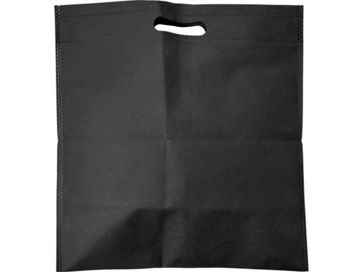Tragetasche 'Carry' aus Non-woven – Schwarz bedrucken, Art.-Nr. 001999999_7858