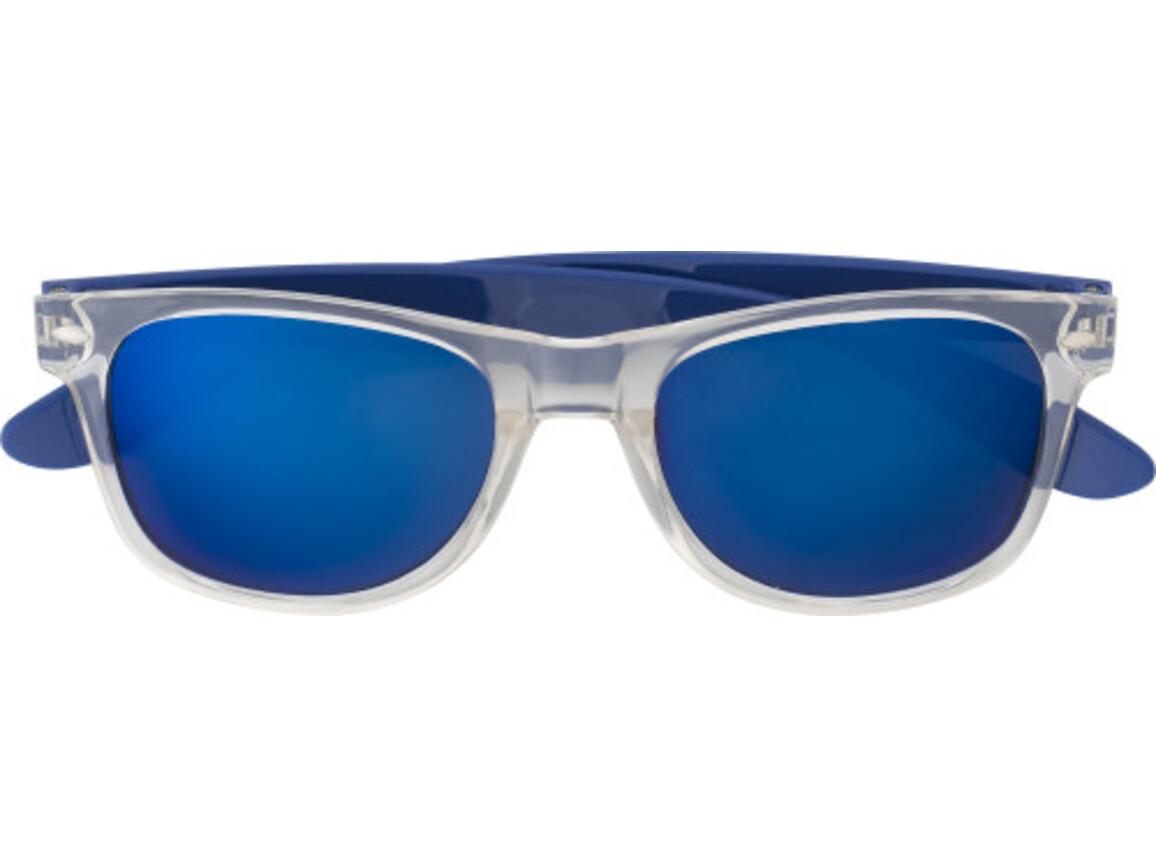 Sonnenbrille 'Malta' aus Kunststoff – Kobaltblau bedrucken, Art.-Nr. 023999999_7887