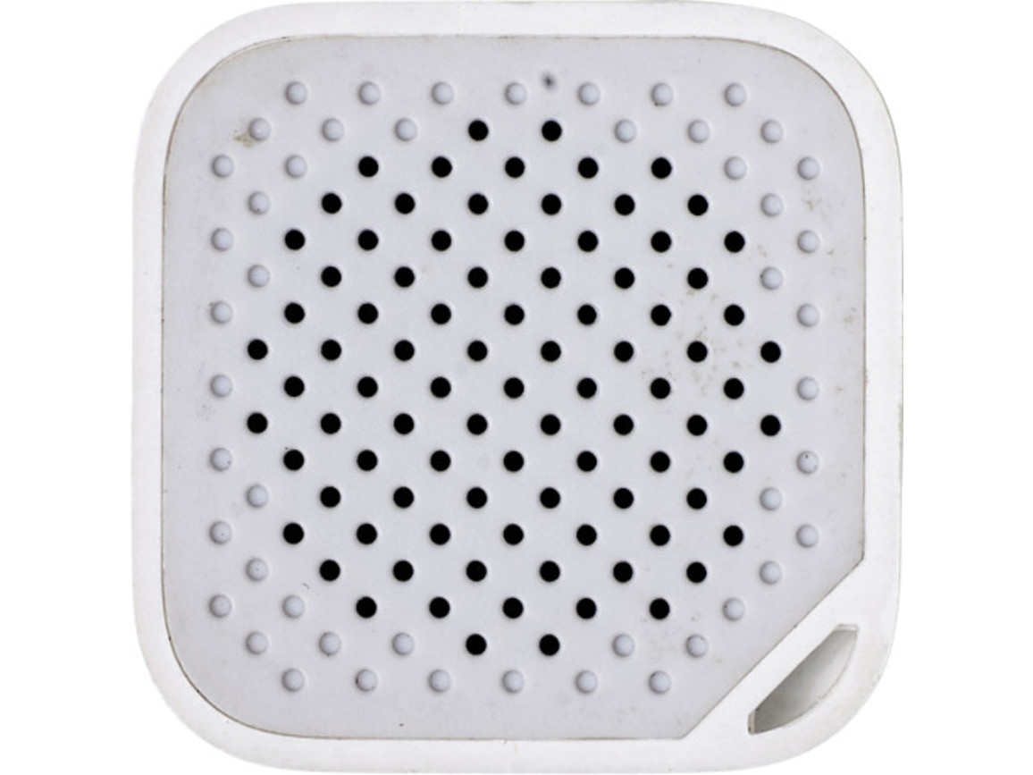 BT/Wireless-Lautsprecher 'Prio' aus Kunststoff – Weiß bedrucken, Art.-Nr. 002999999_7917