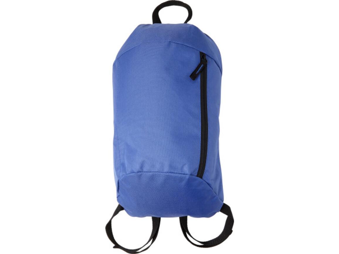 Rucksack 'Easy' aus Nylon – Kobaltblau bedrucken, Art.-Nr. 023999999_7936