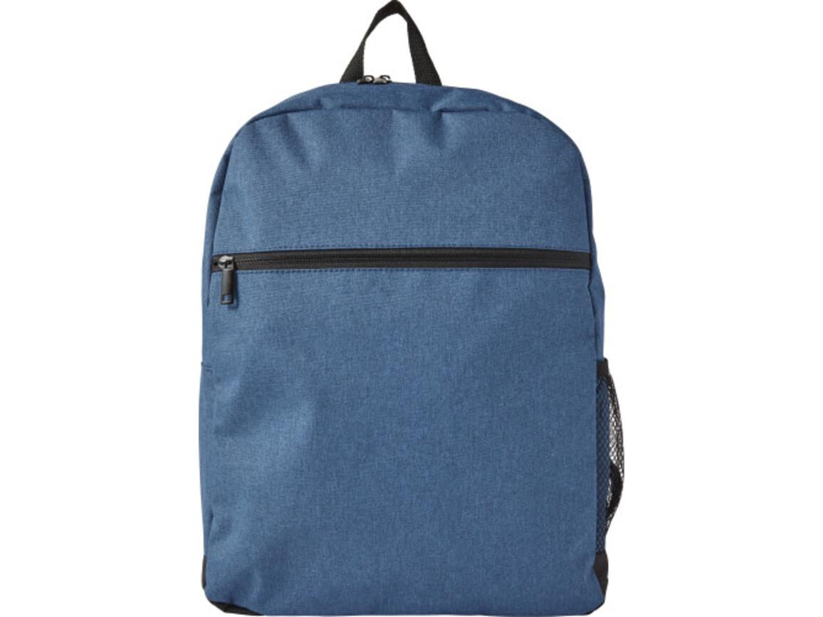 Rucksack 'Basta' aus Polyester – Blau bedrucken, Art.-Nr. 005999999_7943