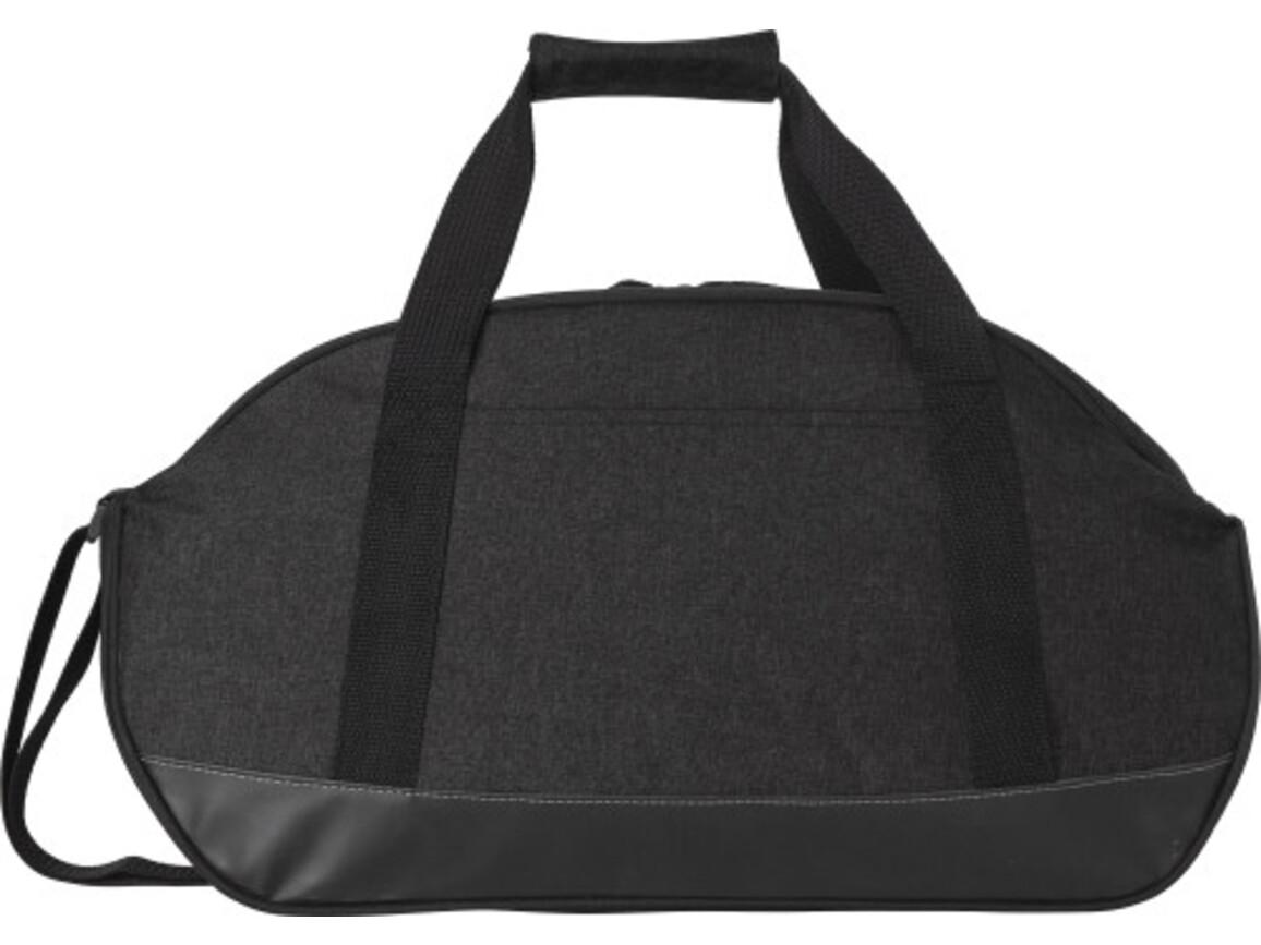 Sporttasche 'Compact' aus Polyester – Schwarz bedrucken, Art.-Nr. 001999999_7950