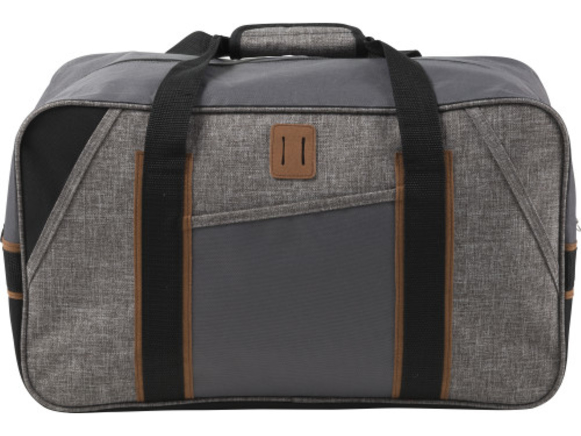 Reisetasche 'Urban' aus Polyester – Grau bedrucken, Art.-Nr. 003999999_7955