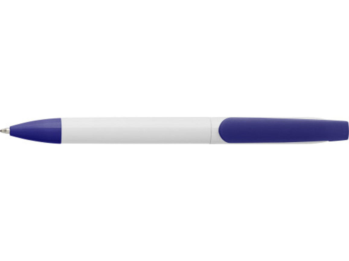 Kugelschreiber 'Single' aus Kunststoff – Blau bedrucken, Art.-Nr. 005999999_7977