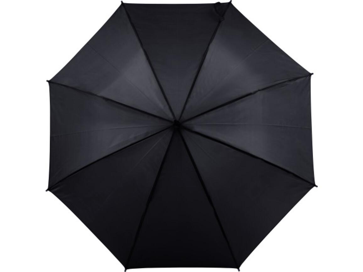 Automatischer Regenschirm 'Sandra' – Schwarz bedrucken, Art.-Nr. 001999999_8003