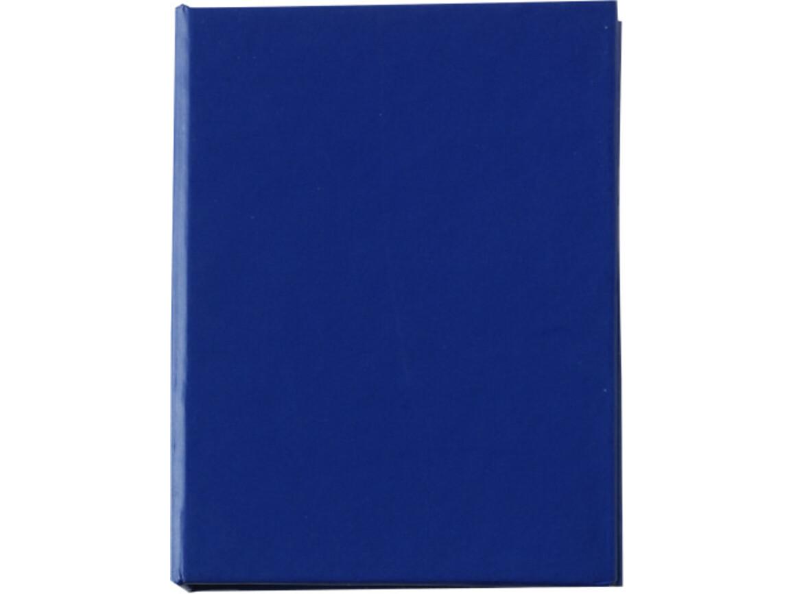 Haftnotizen 'Hurrikan' aus Karton – Blau bedrucken, Art.-Nr. 005999999_8011