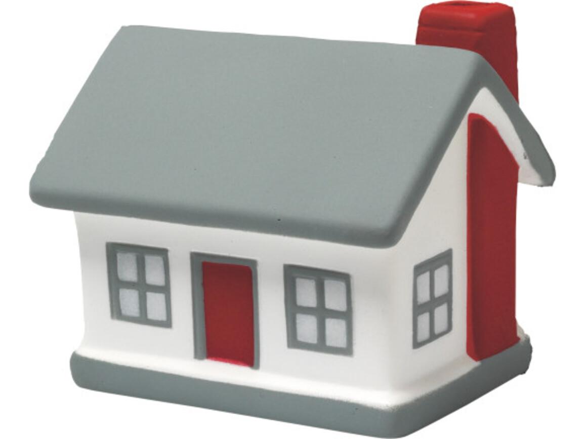 Anti-Stress-Haus 'Home' aus PU Schaum – Neutral bedrucken, Art.-Nr. 999999999_8032