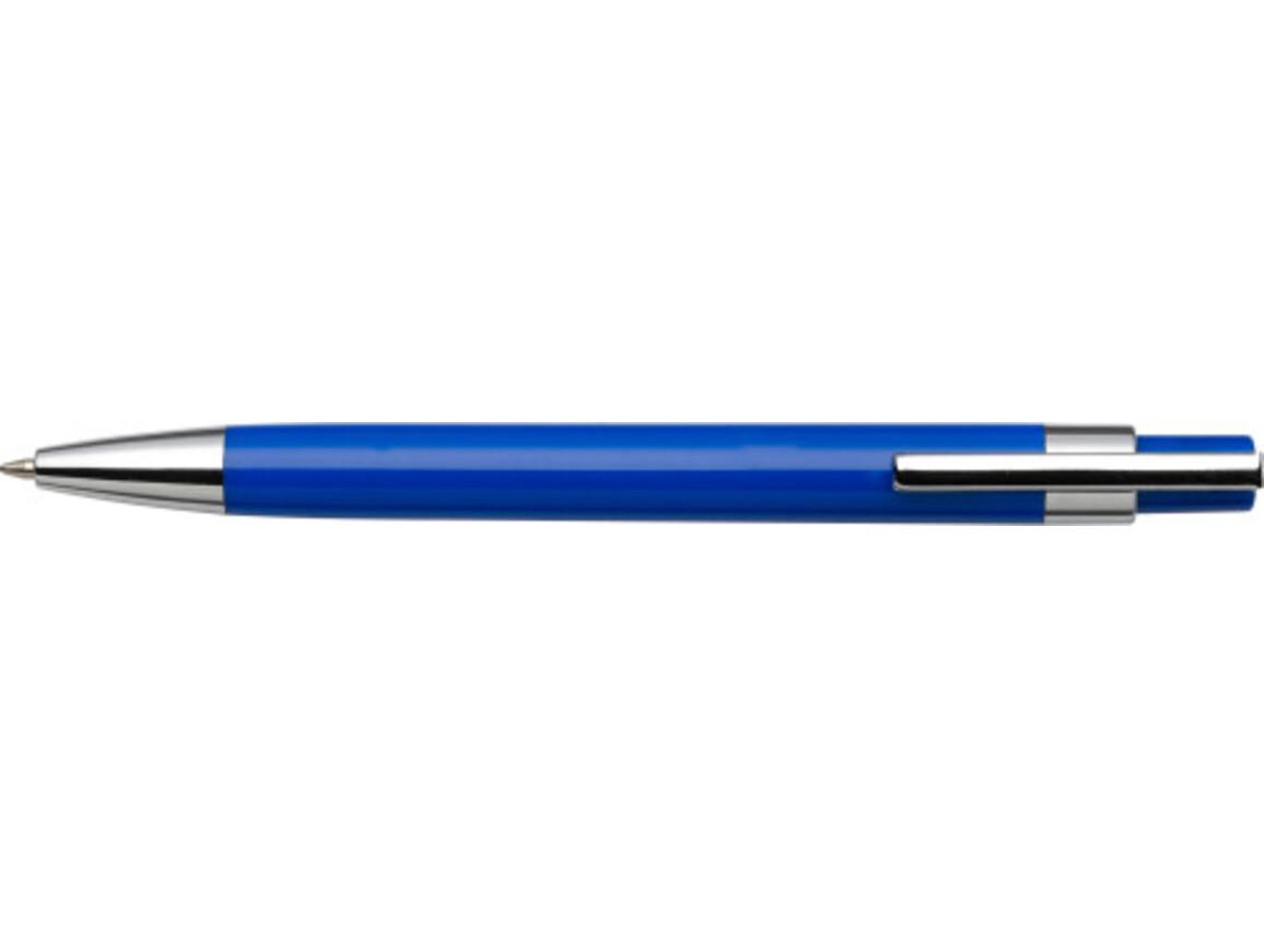 Kugelschreiber 'Mataro' aus Kunststoff – Blau bedrucken, Art.-Nr. 005999999_8121