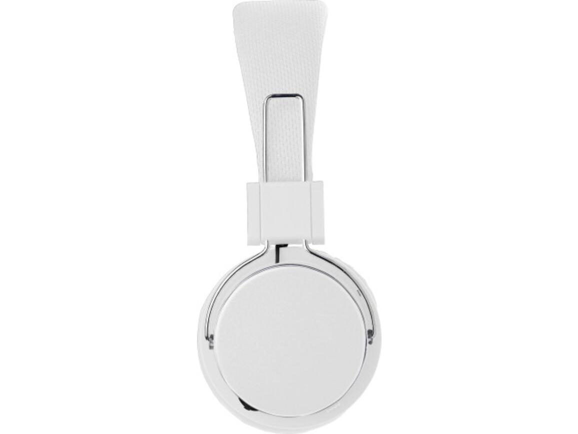 Wireless Kopfhörer 'Independent' aus Kunststoff – Weiß bedrucken, Art.-Nr. 002999999_8165