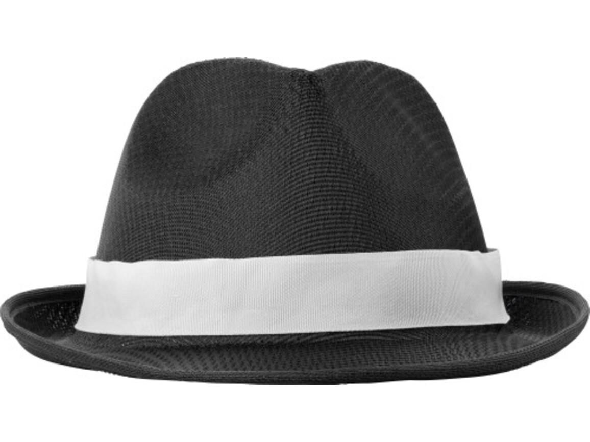 Hut 'Havanna' aus Polyester – Schwarz bedrucken, Art.-Nr. 001999999_8246