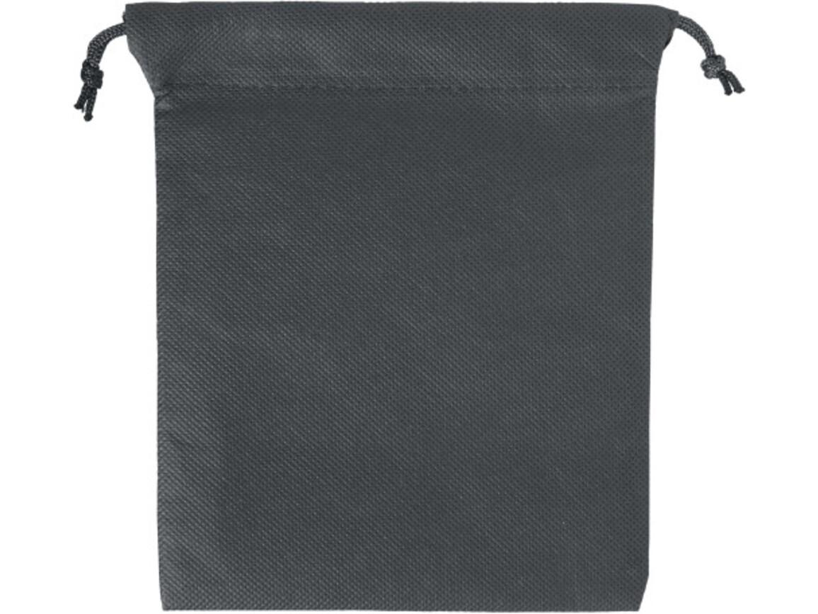 Geschenkbeutel 'Goodie' aus Non-Woven – Schwarz bedrucken, Art.-Nr. 001999999_8279