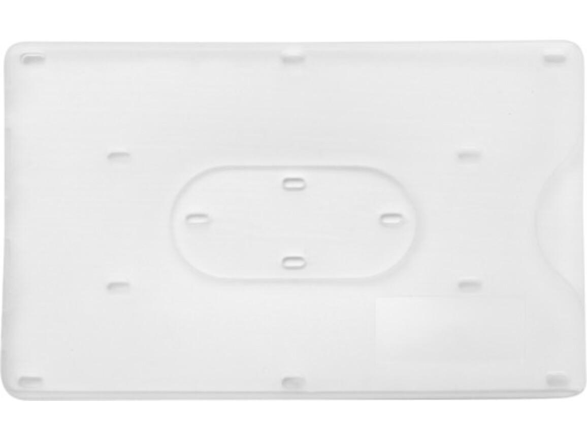 Kreditkartenhalter 'Kredit' aus Kunststoff – Weiß bedrucken, Art.-Nr. 002999999_8358