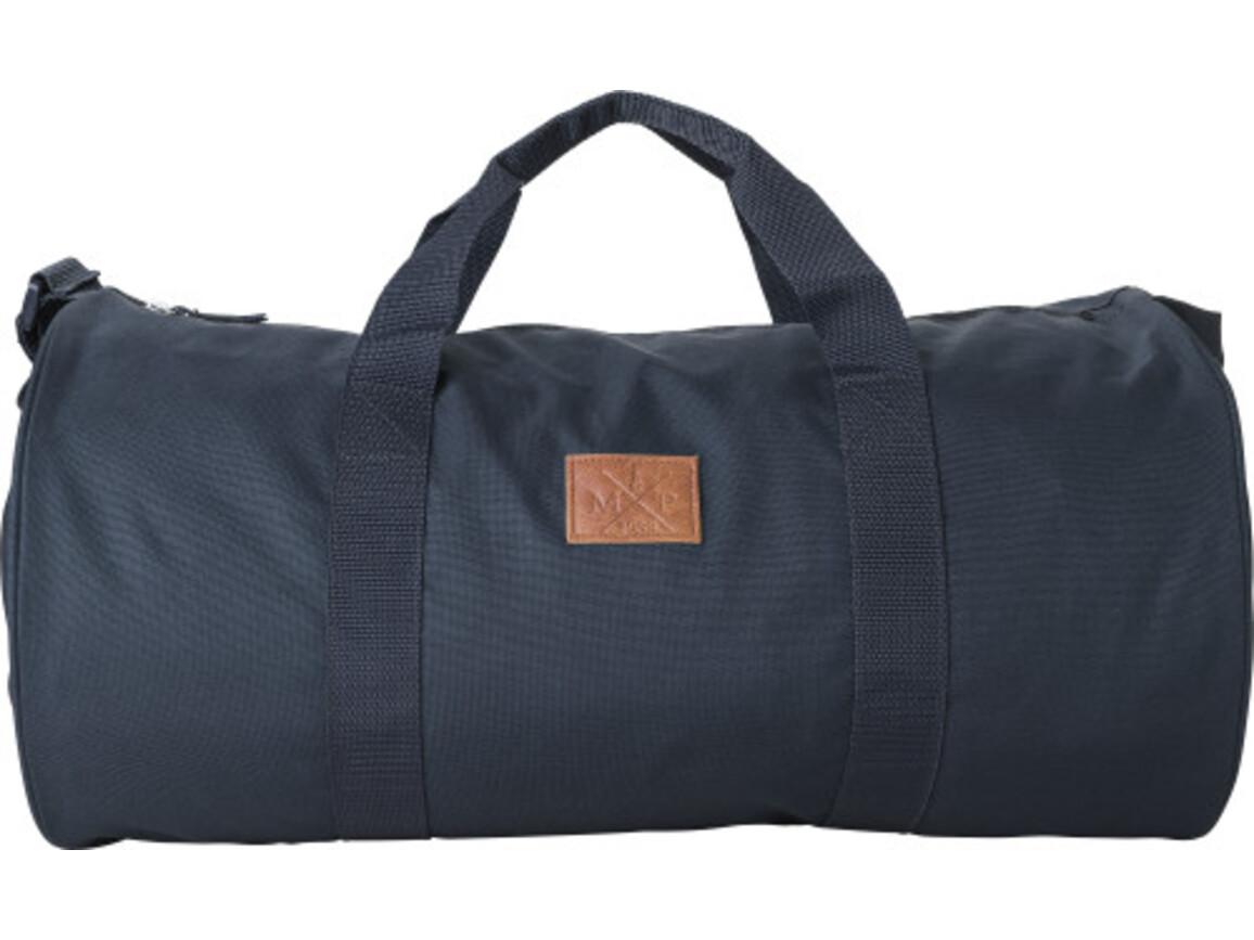 Reisetasche / Dufflebag 'Daily' aus 600D Polyester – Blau bedrucken, Art.-Nr. 005999999_8492